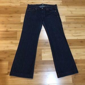 "7 For All Mankind Dojo Jeans (30"" Inseam) Like New"
